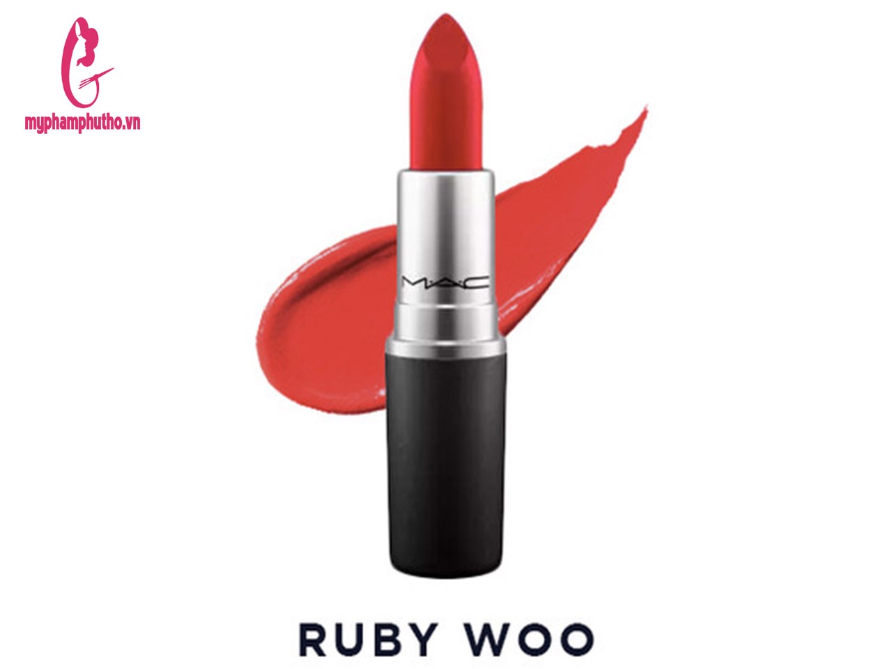 Son Mac Satin Lipstick Rouge Màu Ruby Woo