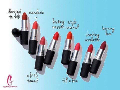 Son M.A.C Power Kiss Lipstick ( vỏ nhám)