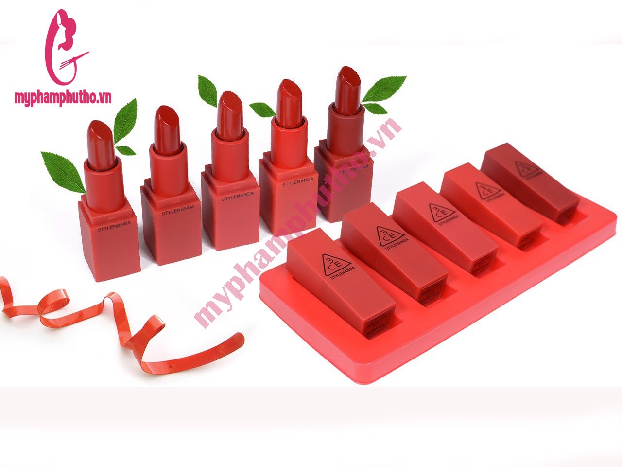 Son Thỏi Lì 3ce Son 3CE Red Recipe Lip Color (Vỏ Đỏ)