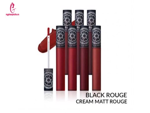 Son kem Black Rouge Cream Matt Rouge