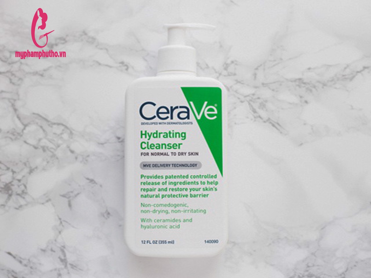 Sữa rửa mặt Cerave Hydrating Cleanser For Normal To Dry Skin Da Khô