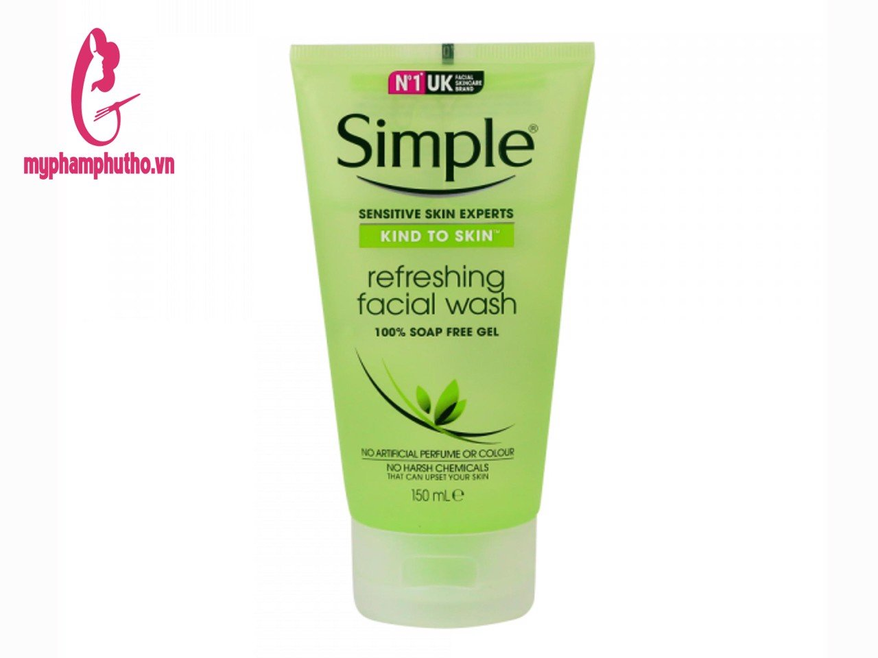 Sữa rửa mặt dạng gel Simple Kind To Skin Refreshing Facial Wash Gel