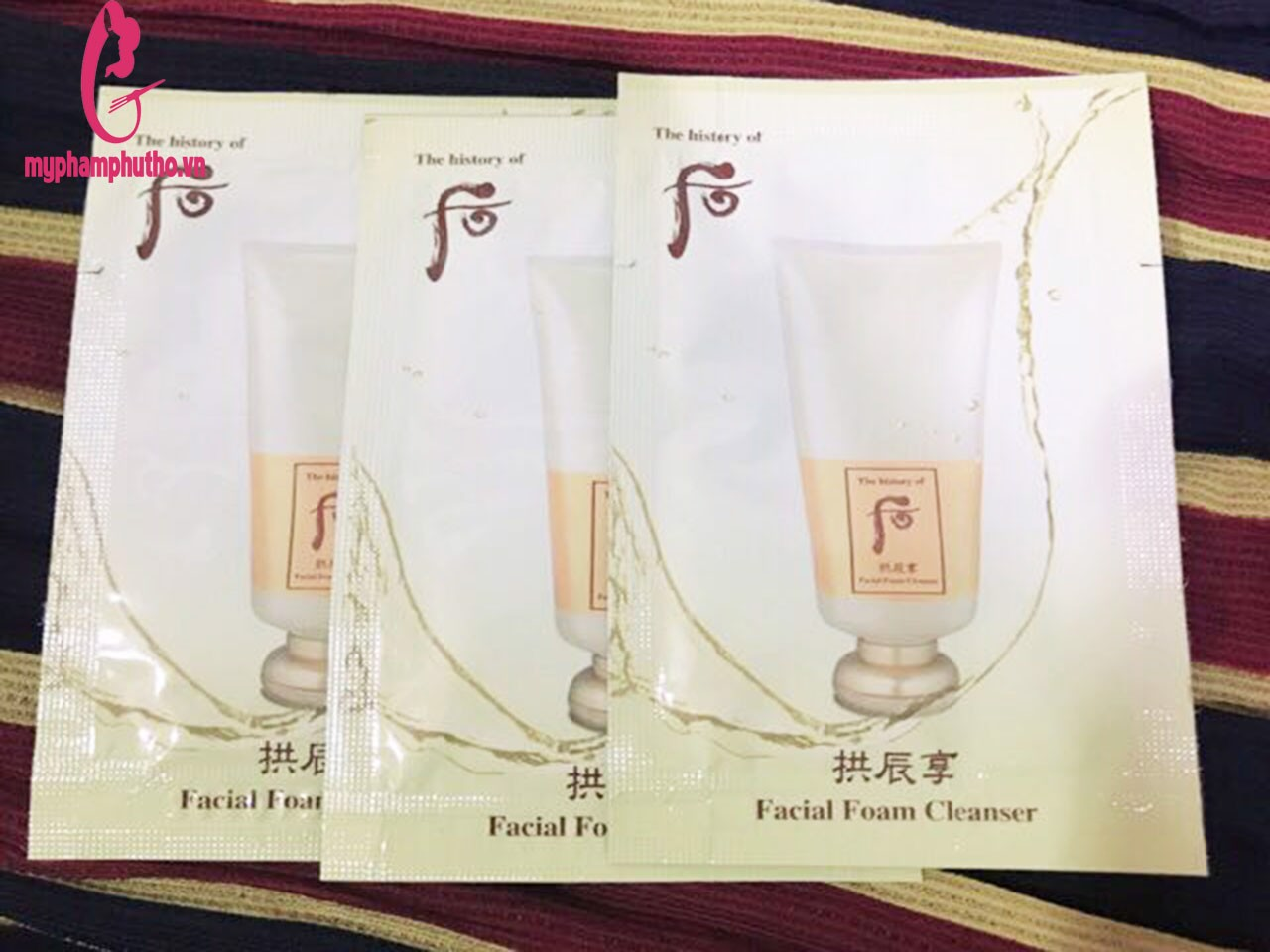 Sữa rửa mặt sample the history of facial foam