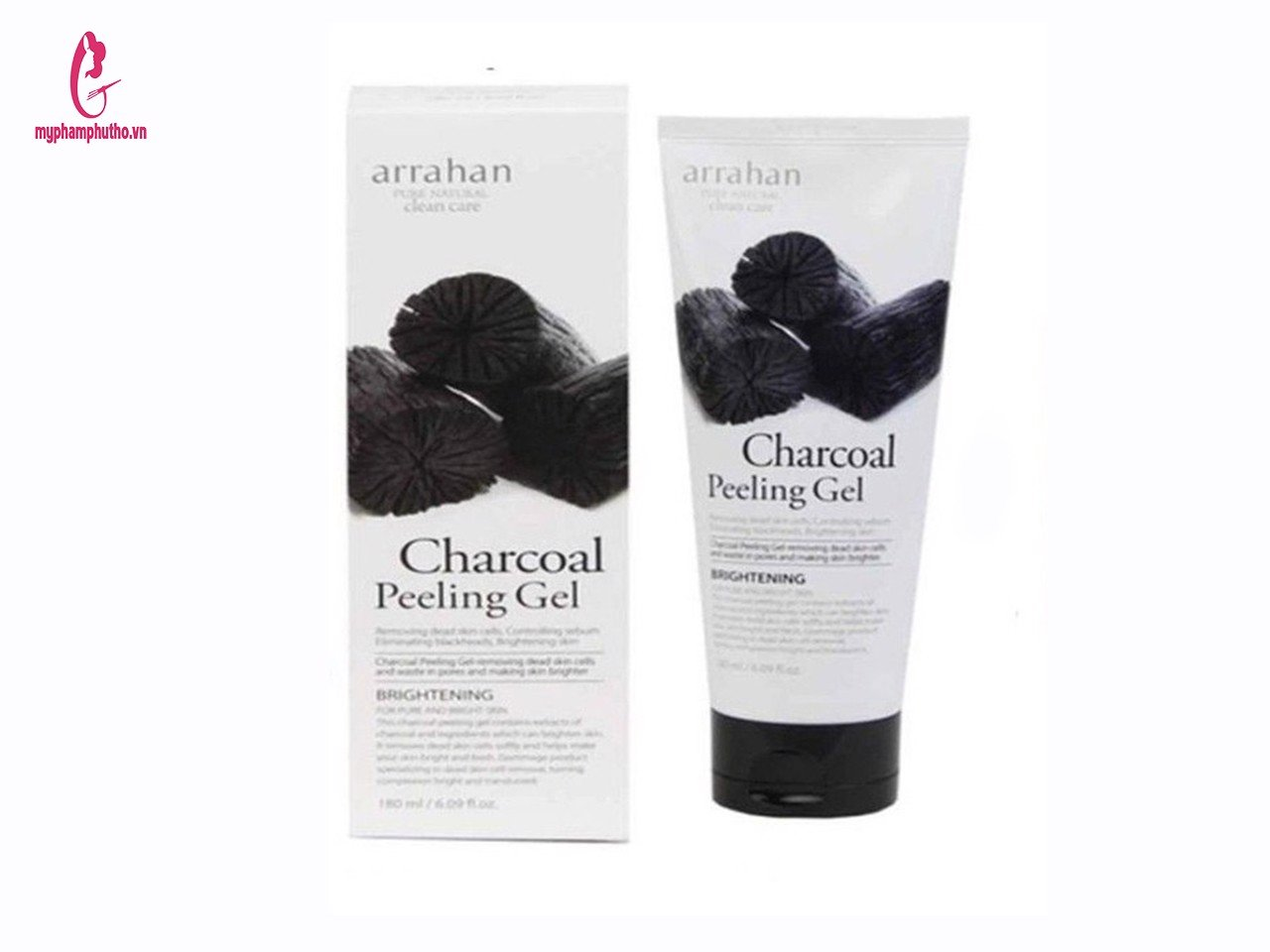 Tẩy da chết Arrahan charcoal Peeling Gel Than hoạt tính  Product Tabs  In Barcode  Product Recommend
