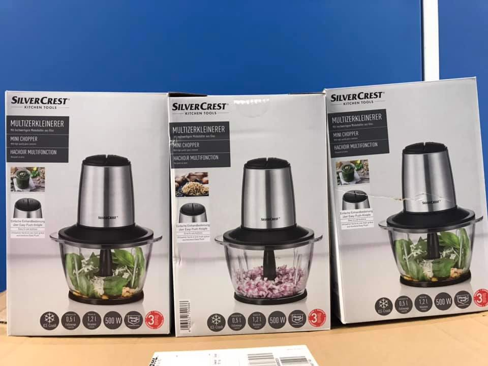 Cối máy xay thịt công suất 500W Silvercrest Germany mẫu mới –  Shophangvip.com - Hàng xách tay Đức