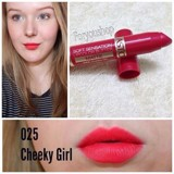 Son Astor Soft Sensation lipcolor butter Matte màu 25 Cheeky girl