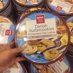 BÁNH QUY BƠ & CHOCOLATE CHIP - REWE BESTE WAHL DANISH BUTTER COOKIES (500gr)