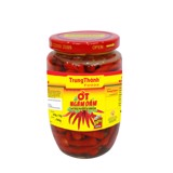 TrungThanh Hot red chilli in vinegar 320gr