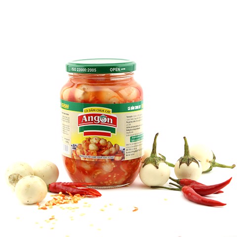 Angon pickled sweet and sour egg-plant 500gr