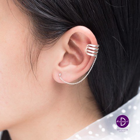 4 Line Earcuff Earrings