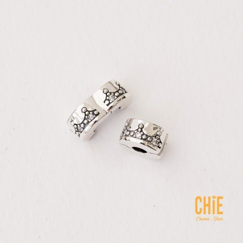 Charm Clip Crown Around