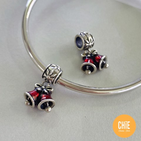 Charm Red Double Bells