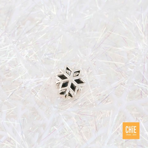 Charm Polished Snowflake