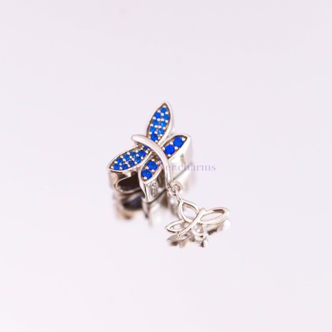 Charm Double Butterfly