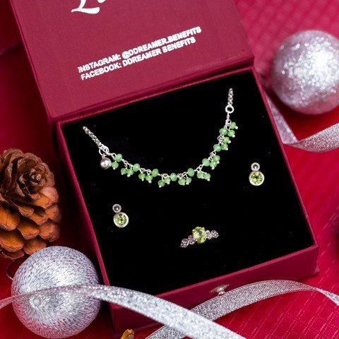 (Set) Christmas Peridot