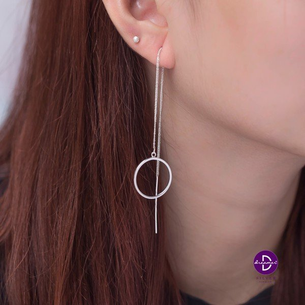 Hoa Tai Strings Earring Series: Circle