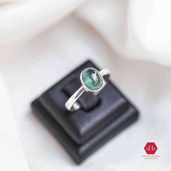 Nhẫn đá Tourmaline - Simple Gem