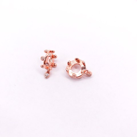 Charm Rose Gold Khoen Olive Leaf