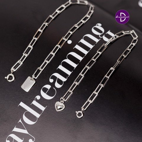 Vòng Tay Little Tag Rectangle Chain