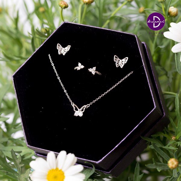 SUMMER GIFT SET - Bộ Trang Sức Lace Butterfly