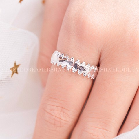 Nhẫn Royal Heart Dot Band Ring