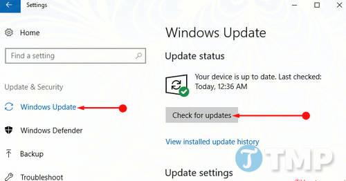 Cách chỉnh sữa lỗi BTServer.exe trên Windows 10