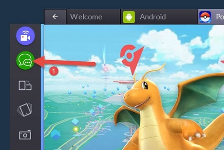 Chat trong Bluestacks, Channels Lobby, Pokemon Go, Clash Royale, Clash of Clans