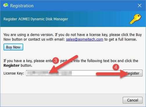 (Giveaway) Đăng ký bản quyền AOMEI Dynamic Disk Manager Pro quản lý ổ cứng, tối ưu hóa máy tính từ 2/8