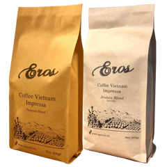 eros vietnam coffee tasting set