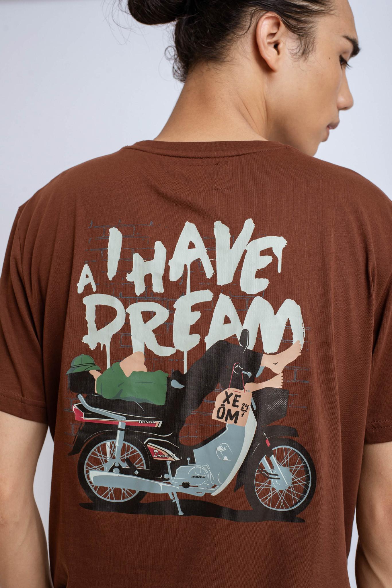 ÁO PHÔNG NAM REGULAR HAVE A DREAM