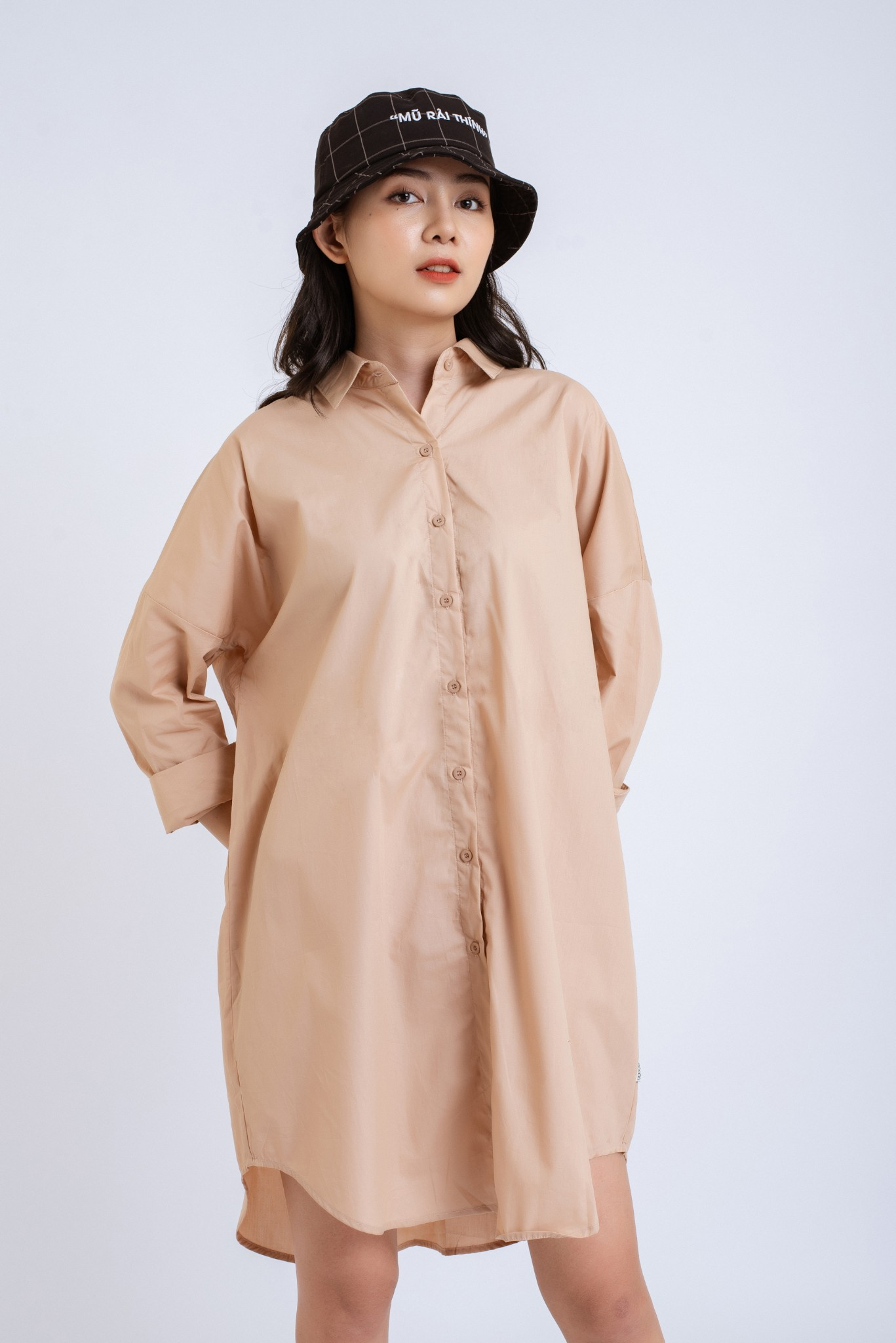 VÁY NỮ LOOSE SHIRT DRESS