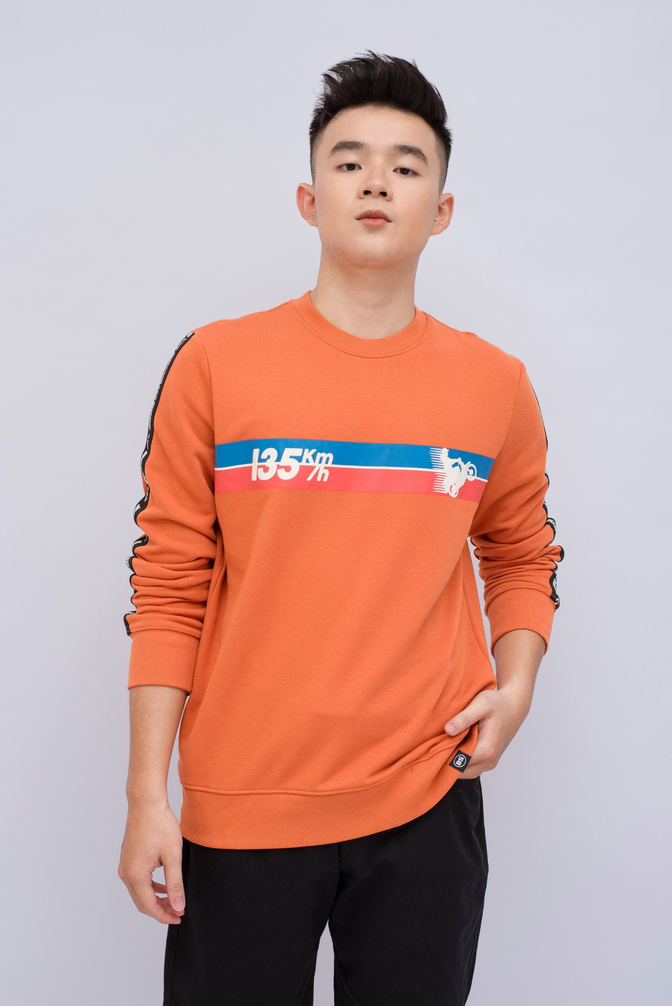 Sweatshirt-Áo MA SDA Regular BS Speed