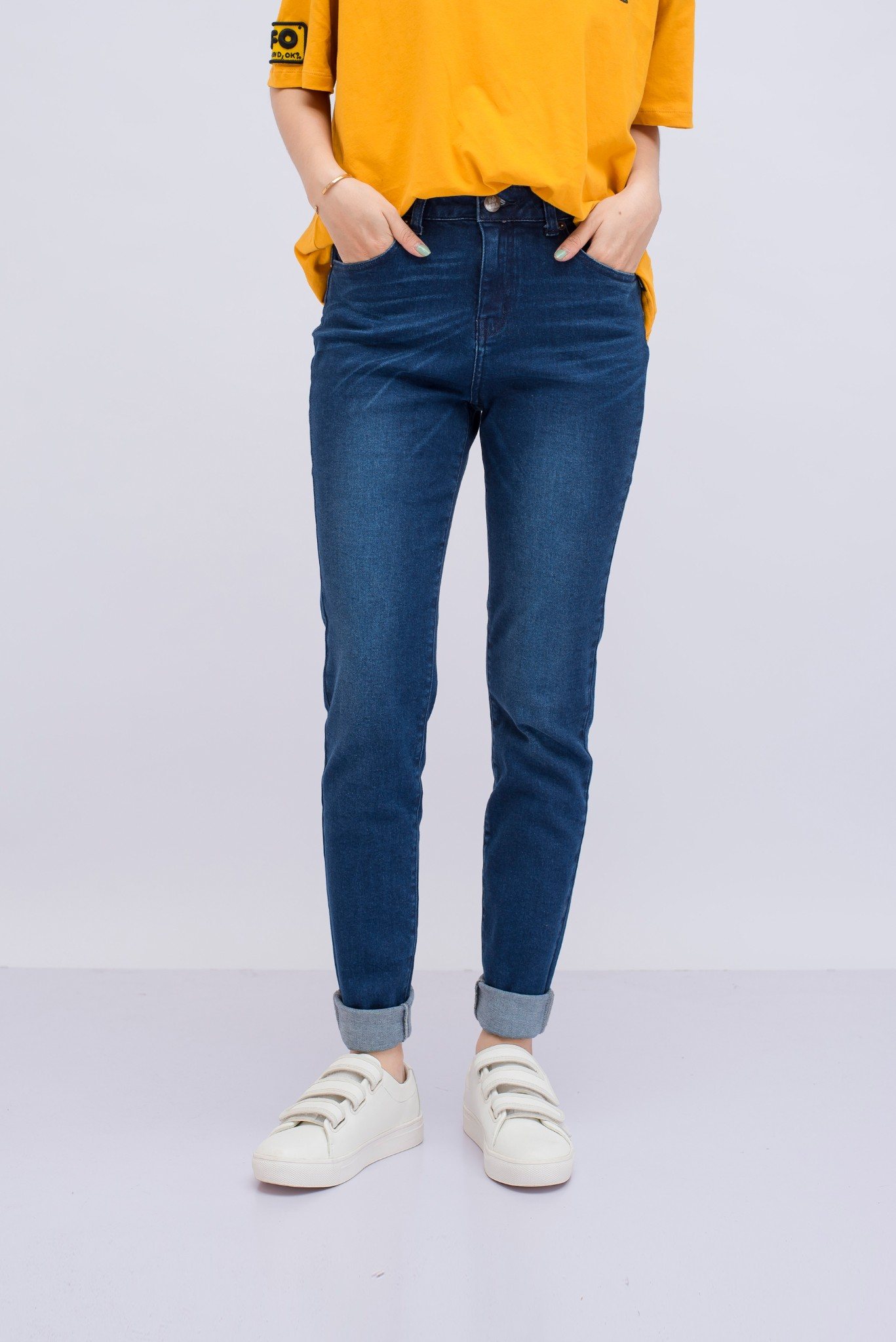 QUẦN JEANS Nữ SKINNY PUSH UP BS