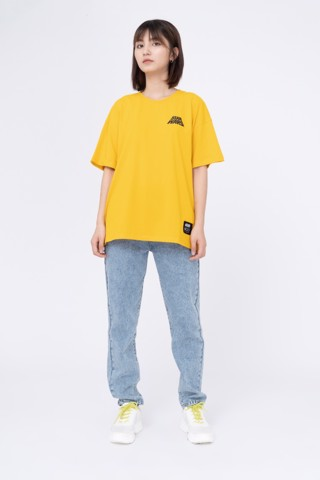 QUẦN JEANS NỮ MOM JEANS WITH YOKE