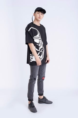 QUẦN JEANS NAM SLIM FIT  DARTH VADER