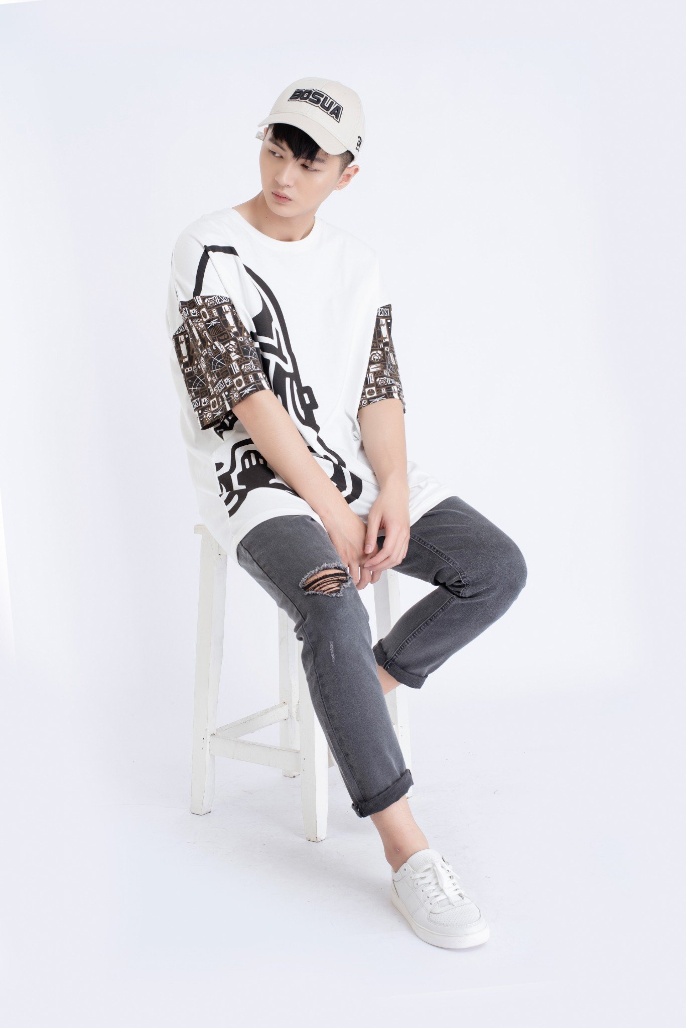 QUẦN JEANS NAM SLIM FIT  FUNK NIGHT