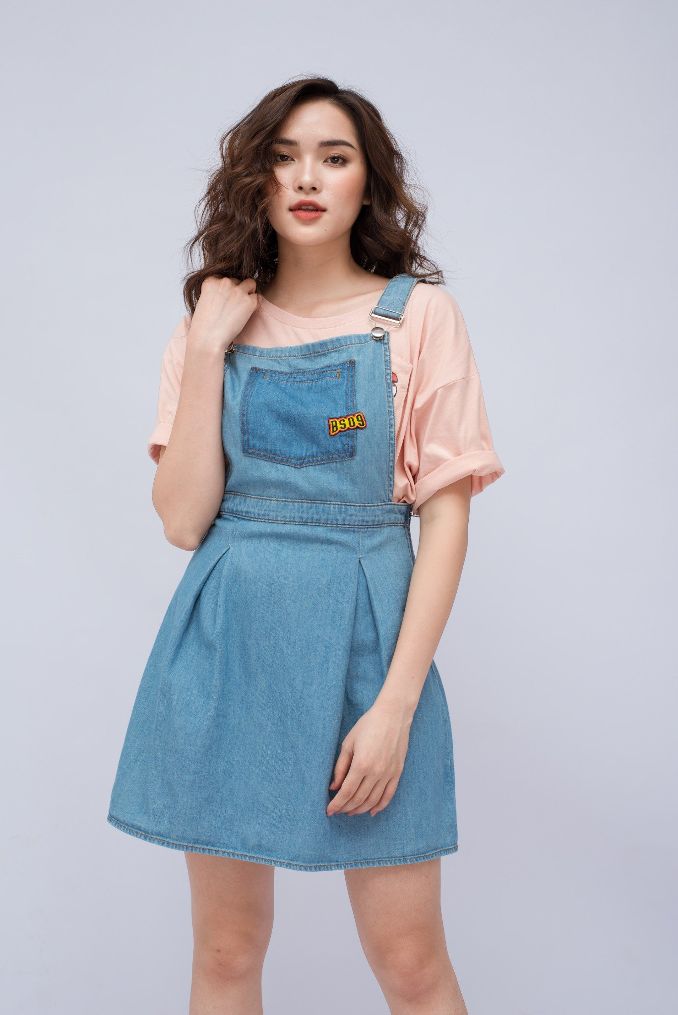 DUNGAREES NỮ A- LINE