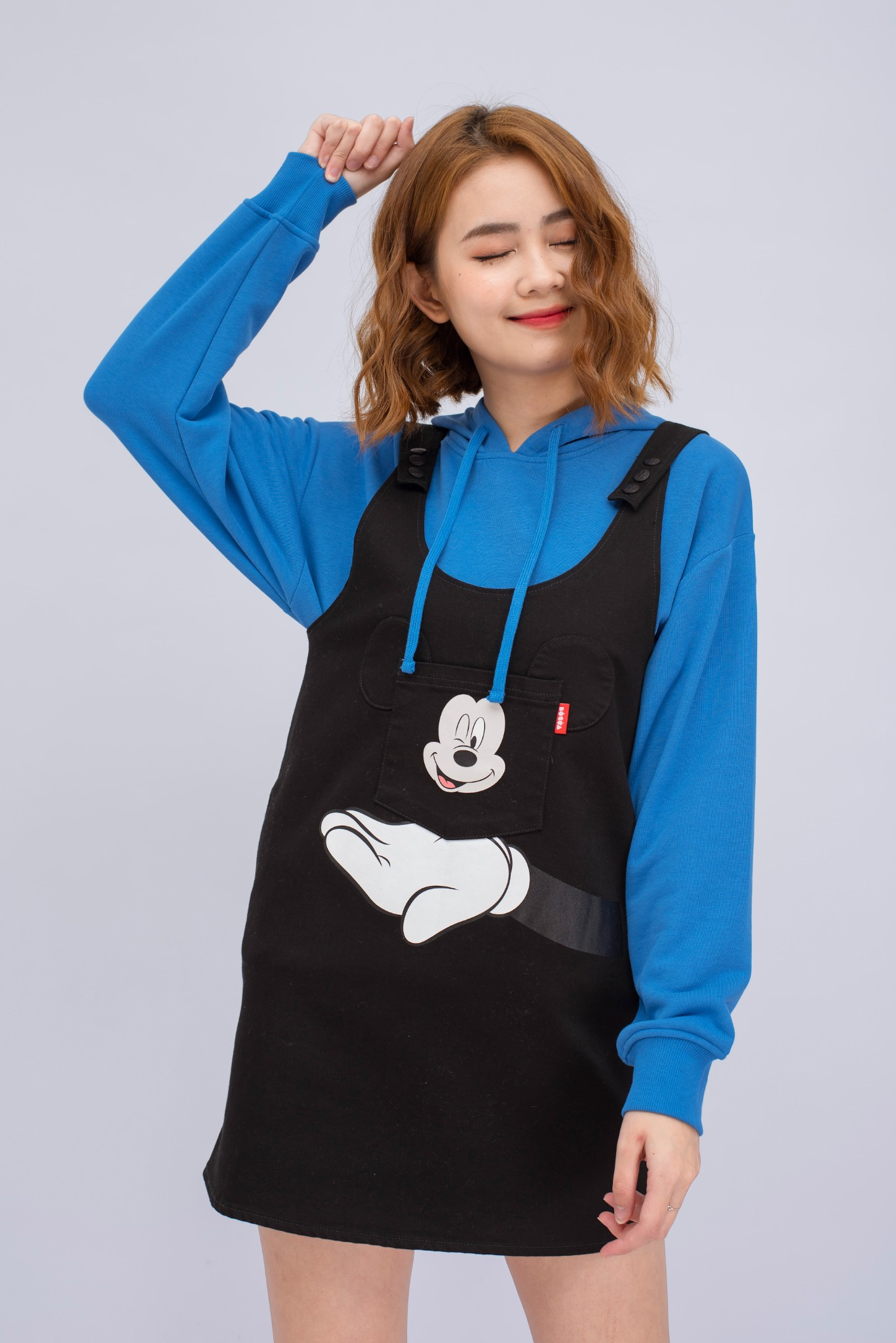 DUNGAREES NỮ MICKEY WINK WINK