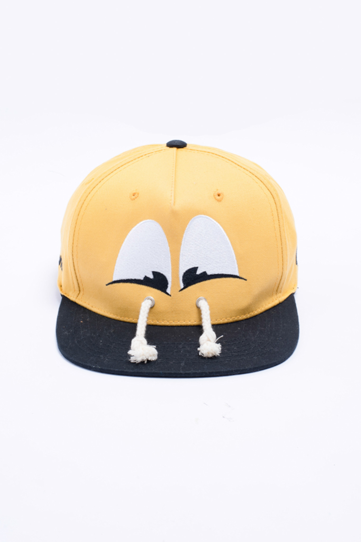 MŨ SNAPBACK THÊU PATCH GRAPHIC YELLOW. LARVA. GRAPHIC