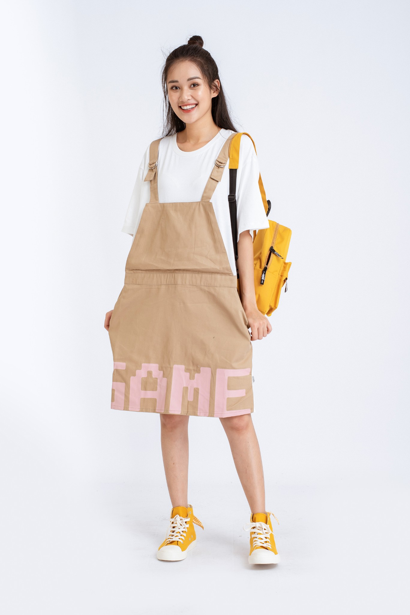 VÁY YẾM OVERSIZE GAME OVER