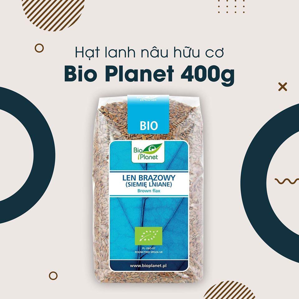 hat lanh nau huu co bio planet 400g