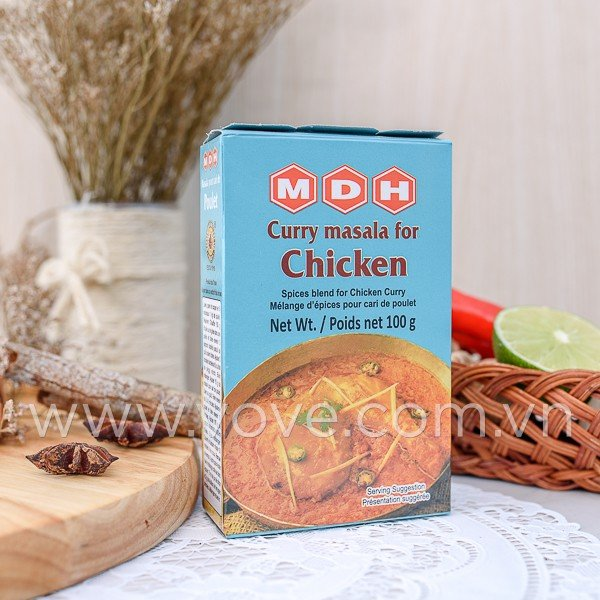 bot gia vi curry masala for chicken