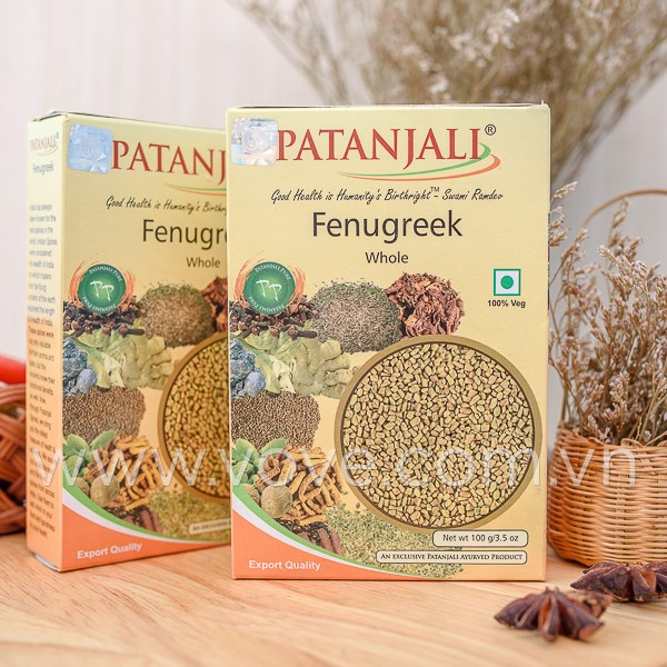 methi patanjali fenugreek whole
