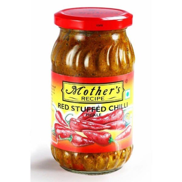 mother red chilli pickle