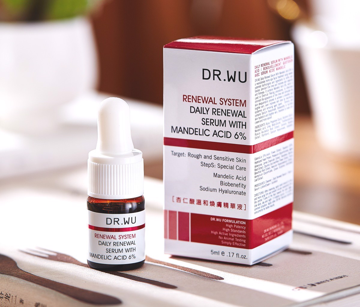 DR.WU Serum Tái Tạo Da Mandelic Acid Plus 5ml