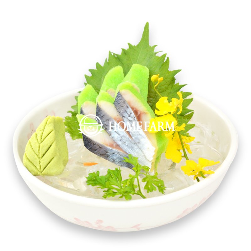 Cá trích ép trứng màu xanh