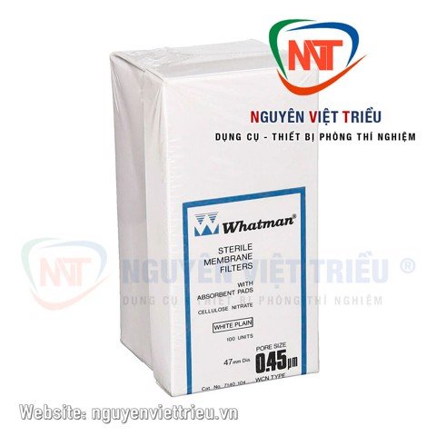 Màng lọc vi sinh Cellulose Nitrate (có absorbent pad)