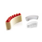 Khuôn bánh silicone TOR938/Set/ WHITE