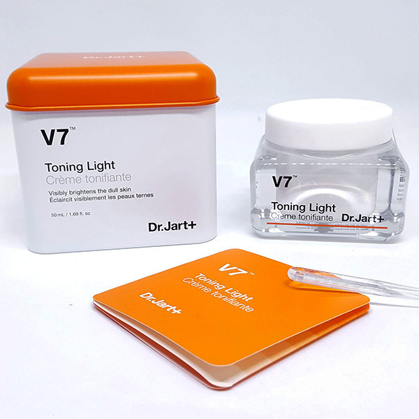 Kem Dưỡng Trắng Da, Trị Thâm Nám V7 Toning Light Dr.Jart+ 50ml Hàn Quốc Chính Hãng