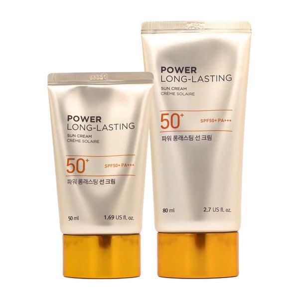 Kem Chống Nắng Lâu Trôi The Face Shop Power Long Lasting Sun Cream SPF 50+ PA+++